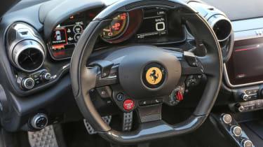 Ferrari GTC4 Lusso T - driver interior