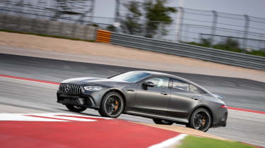 Mercedes-AMG GT63S - turning