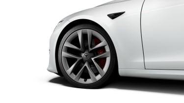 Tesla Model S Plaid wheel
