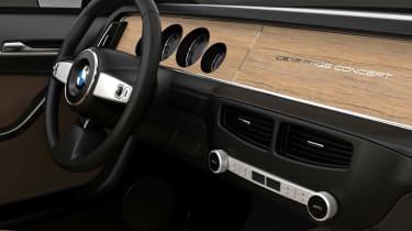 BMW CS Vintage Concept interior wood