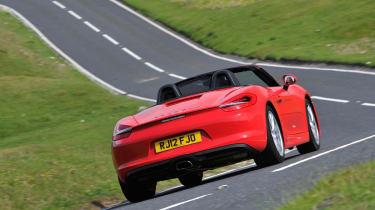 2012 Porsche Boxster 2.7 rear