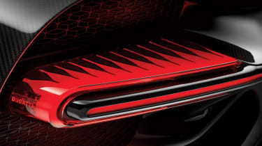 Bugatti Chiron Sport –tail light