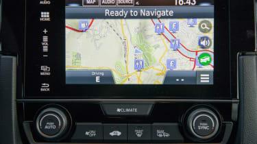 Honda Civic 1.6 i-DTEC – centre console