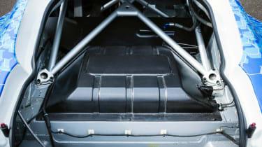 Aston Martin Rapide Hybrid Hydrogen fuel tank