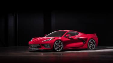2020 Chevrolet Corvette C8 front low roof