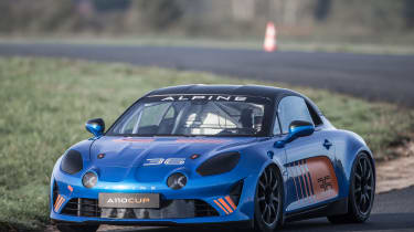 Alpine A110 Cup – front