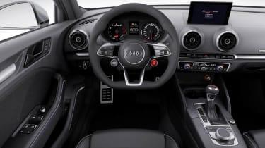 Audi A3 Clubsport quattro interior dashboard