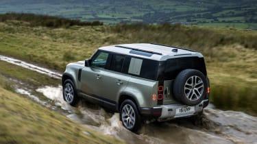 Land Rover Defender PHEV – rear
