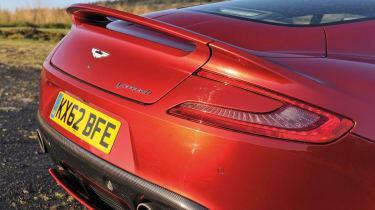 Aston Martin Vanquish boot