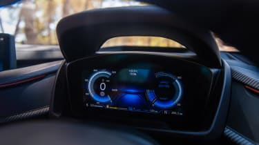 BMW i8 Roadster dials