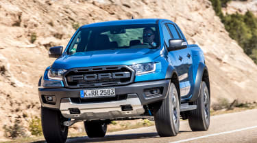 Ford Ranger Raptor - front road