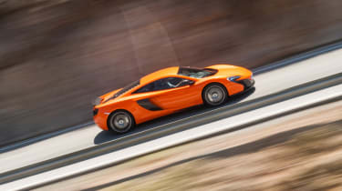 McLaren 650S side profile