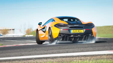 Sub-supercar group test - 570S