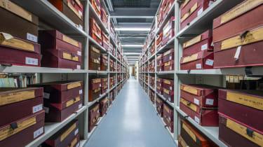 Lancia Heritage Parts – shelves