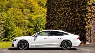 Audi S7 TDI - side