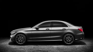 Mercedes-Benz C-class –AMG Line – side