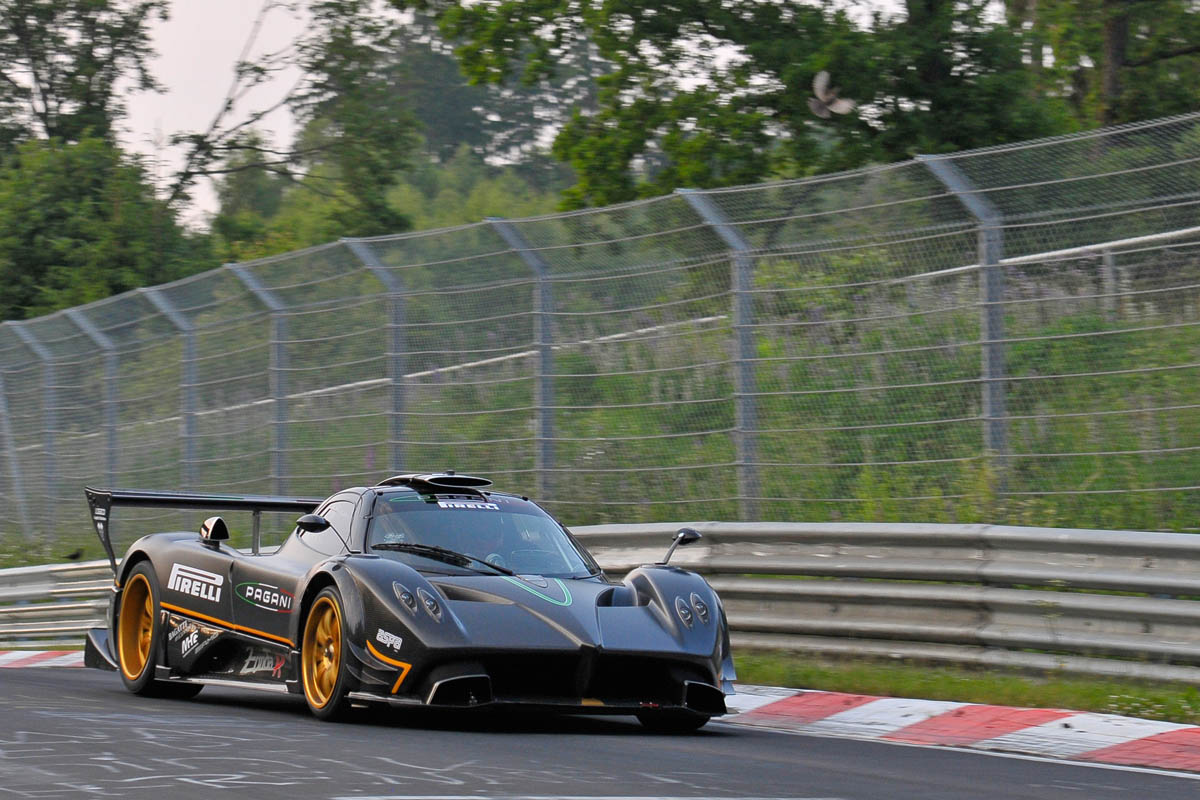 Pagani Zonda R Nürburgring record   Evo