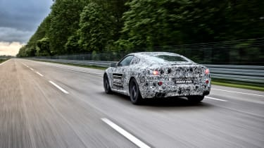 BMW M8 prototype - driving rear