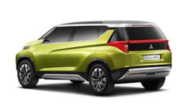 Mitsubishi AR PHEV concept rear