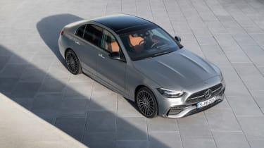 2021 Mercedes C-class revealed - top