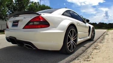 Renntech Mercedes SL65 Black rear static