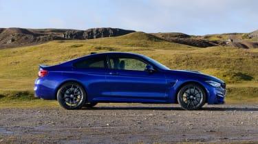 BMW M4 CS – side