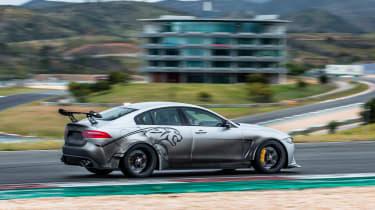 Jaguar XE SV Project 8 - rear quarter