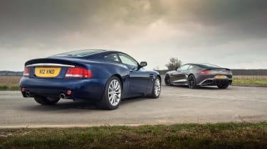 Aston Martin Vanquish test