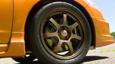 Mugen Honda CR-Z hybrid coupe alloy wheels
