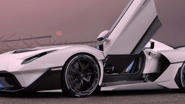 Lamborghini SC20 - door