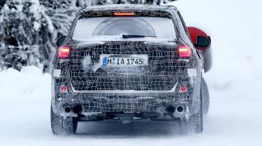 BMW X5 M spies – rear