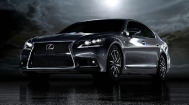 Lexus reveals LS flagship