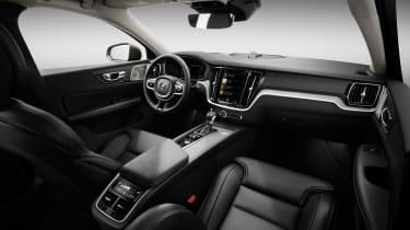 Volvo V60 press - interior