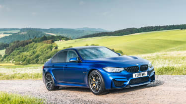 2018 BMW M3 CS - front quarter