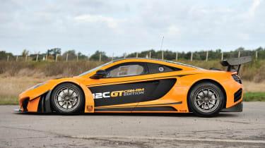 McLaren 12C Can-Am side profile door decals