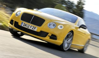 2013 Bentley Continental GT Speed front cornering