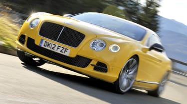 2013 Bentley Continental GT Speed front cornering