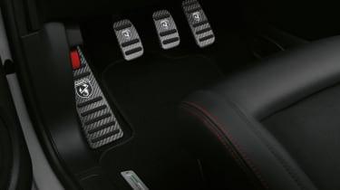 Abarth 595 Esseesse pedals