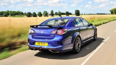 Vauxhall VXR8 GTS-R blue - UK car rear 2