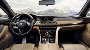 BMW Gran Lusso Coupe interior dashboard