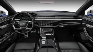 Audi S8 2019 revealed - dash