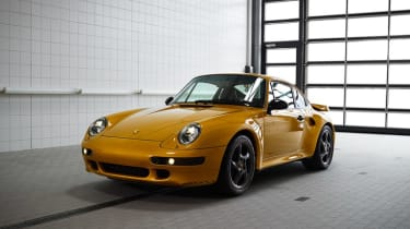 2018 Porsche 993 Turbo Project Gold