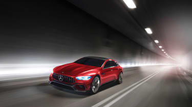 Mercedes-AMG GT Concept driving