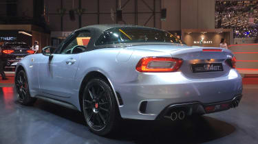 Abarth 124 Spider GT – rear quarter