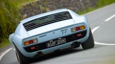 Lamborghini Miura rear