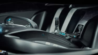 Jaguar Vision Gran Turismo SV Concept - dash