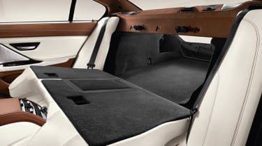 BMW 6-series Gran Coupe rear space