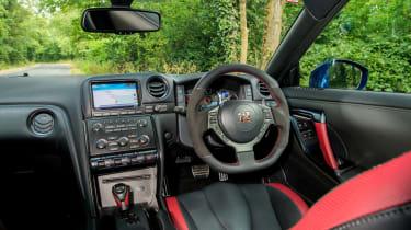 Nissan GT-R - interior