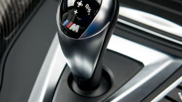2018 model-year BMW M3 Competition Pack - Gear selector