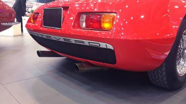 Monteverdi Hai 450 - Exhaust